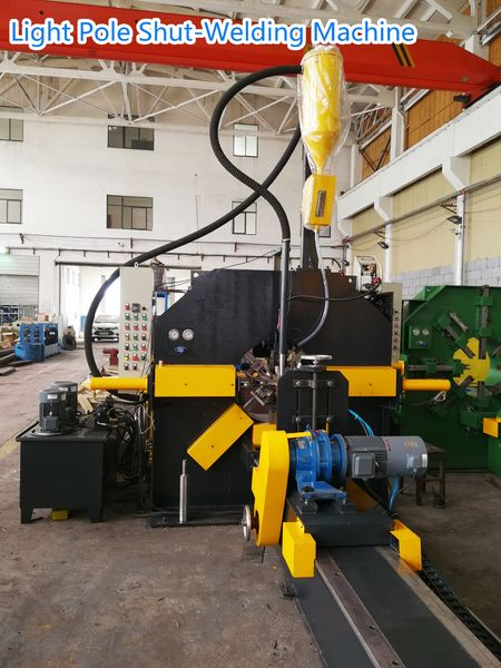 China best Light Pole Shut-Welding Machine on sales