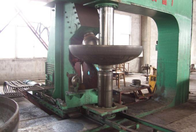 25MPa 400T Pressing Machine , Dished End Machine For Pressing Small Dished End Φ 3000 × 16mm