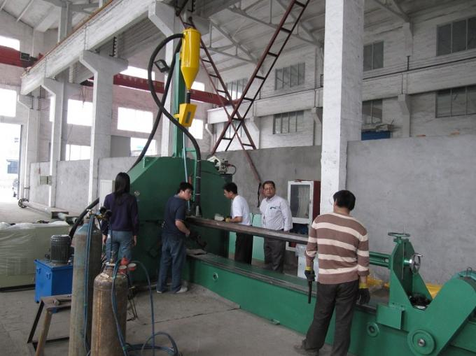 Industrial Street Light pole machine / making equipment for Lamp post