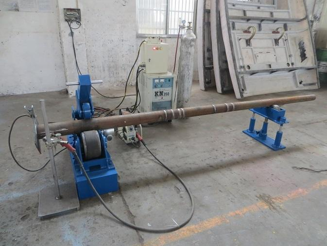 Industrial Street Light pole machine / making equipment for light pole 10