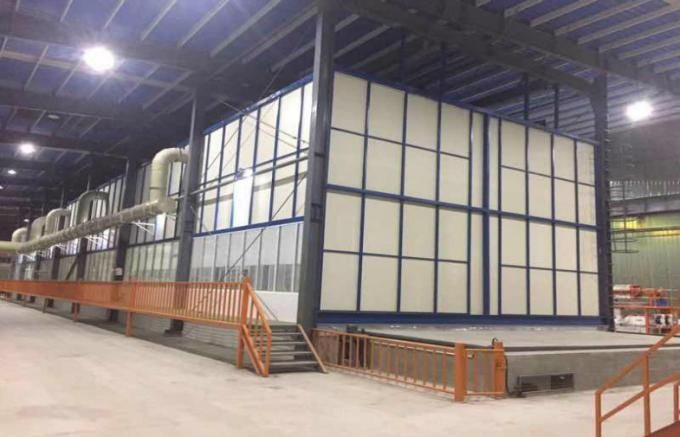 Running Speed 10-20m / Min Hot Dip Galvanizing Equipment Steel Substrate With Cooling Tank