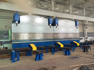 China 800T / 6000mm Electric hydraulic CNC Tandem Press Brake With Bending Steel Plates factory