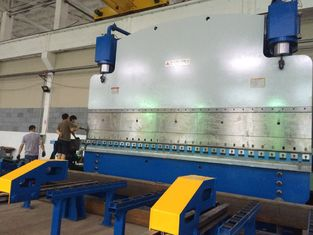 Electric Hydraulic CNC Sheet Metal Bending Equipment 160T / 3200mm