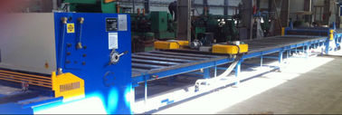 Professional  6X1600 light pole plate slitting machine / cutting machine