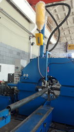 China 60 - 500mm lighting pole welding machine /  production line for light pole factory