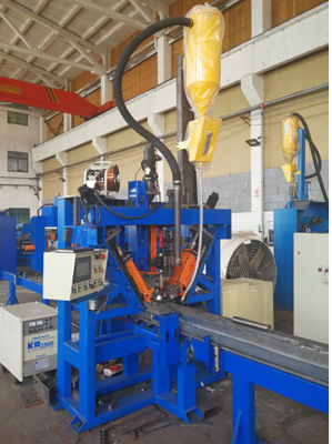 Professional Electric Pole Production Line Welding Max 450mm - 12000mm