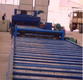 Bevel cutting Machine For lighting pole production slitting sheet into 3 pieces or 2 pieces
