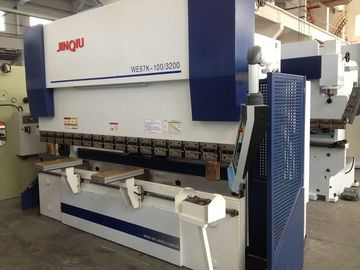 China 7.5kw 2500mm Multi-Axis CNC Hydraulic Press Brake 100t For Steel Tower / Truck Carriage supplier