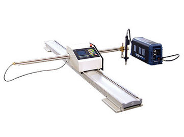 China CNC Portable Flame Cutting Machine , Light Pole Machine to Cut Light Pole Base Plate factory