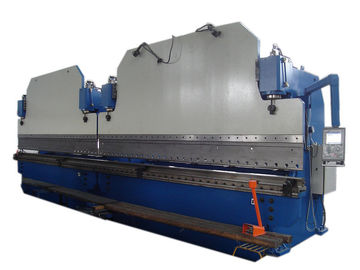 China 6mm Electro Hydraulic Servo Cnc Press Brake Steel Plate Bending Machine DA52 controller supplier
