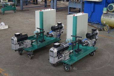 China Parking lot  Light Pole Machine  , Double Hole Drilling machine for 40 ~ 120mm pipe supplier