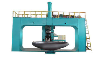 China Dished end flanging machine For Making Storage Tank Φ 3000 × 16mm /  Metal Spinning factory