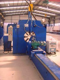 Light Pole Shut-Welding Machine for circle and polygon pole / tube 14000mm length