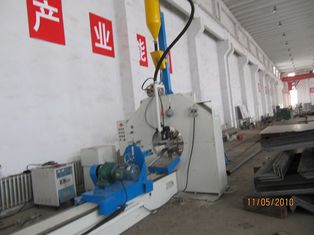 China 60 - 500mm lighting pole welding machine /  production line for road lamp factory