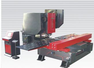 High speed hydraulic CNC plate punching machine / equipment with LCD computer control