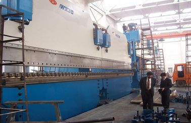 China Large CNC Tandem Press Brake Machine For Bending Steel Plate 2-600T /  6000mm supplier