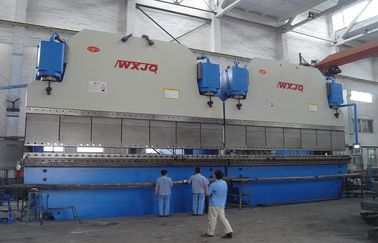 China Safe CNC Synchro hydraulic tandem press brake  14000mm Width 2-1200T / 7000mm supplier