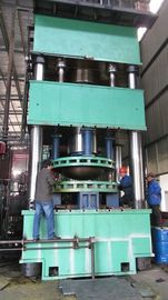 China 1000 ton Hydraulic press machine , Dished End Machine For Press Dished End Edge factory