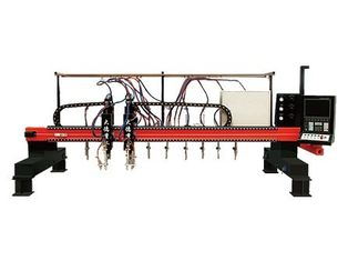 China High speed Multi-Head Vertical Strip CNC Plasma Cutting Machine for Industrial factory
