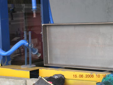 High efficiency Roller conveyor Steel plate shot blasting cleaning machine for descaling
