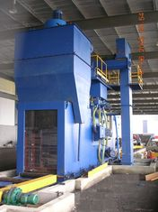 China Industrial Steel shot blasting equipment for blasting of H beams , Angles and flat factory