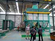 ISO Hot Dip Galvanizing Machine With Flue Gas Waste Heat Utilization System