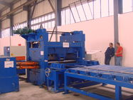 Economical high mast light pole production line / Cutting Machine for light pole 12000mm supplier