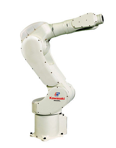 White Automated Robotic Welding Machine Robotic Laser Welding