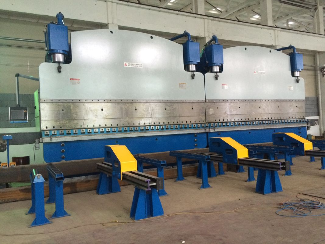 High rigidity cnc hydraulic press brake bending machine With DA56 or DA66T Controller supplier