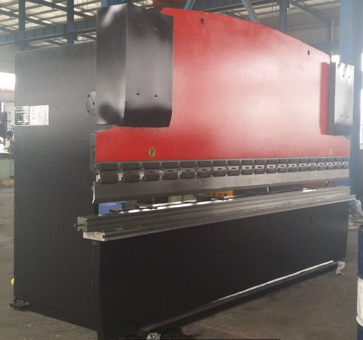 6mm V Groove CNC Hydraulic Press Brake Machinery for For Bending Steel Plates 160T / 3200mm supplier