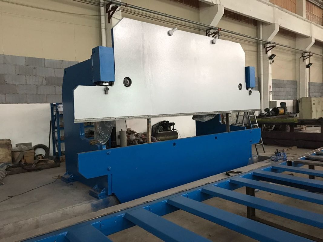 125T / 4000mm CNC Hydraulic Press Brake Bending Machine for Steel Plate supplier