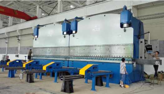 Fast Cnc Hydraulic Press Brake Machine For Making Light Pole And High Mast supplier