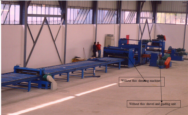 Economic Taper Cutting Machine for light pole to cut the steel coil into sheet supplier