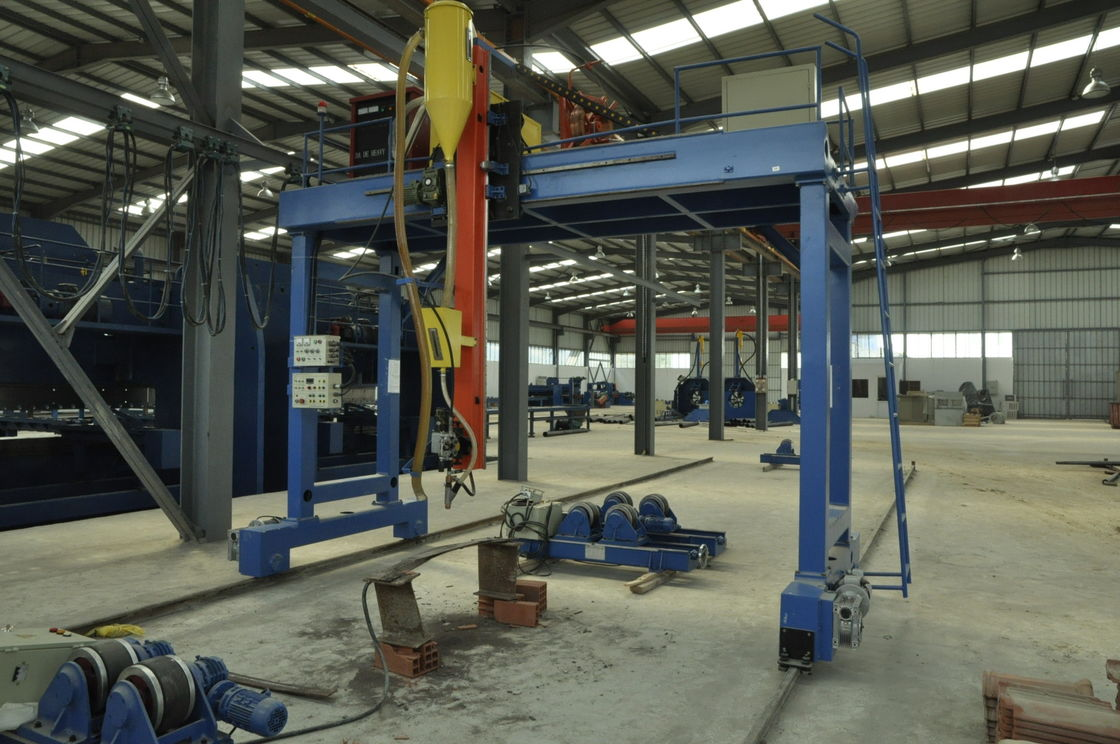 High efficiency Light Pole Machine , High Mast Gantry welding machine for large pipe / tube supplier