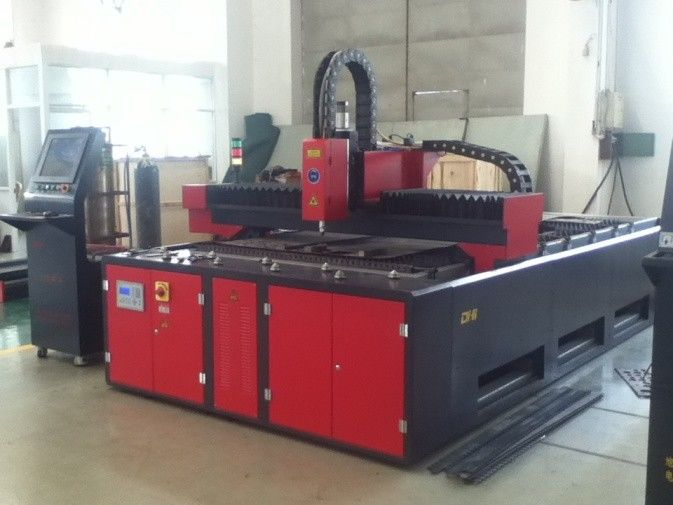 500W 1500 X 3000 CNC Fiber Laser Cutting Machine For Sheet Plate