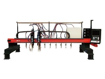 High speed Multi-Head Vertical Strip CNC Plasma Cutting Machine for Industrial supplier
