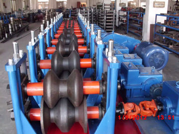 Steel Two Waves 3.0mm Guardrail Roll Forming Machine