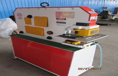 Ironworker punches , Hydraulic ironworker machine for I beam shear , angle shear