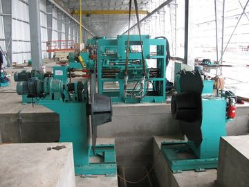 6 X 1600 Economical Cut To Length Machine , steel coil cutting machine